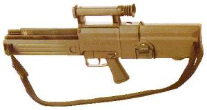 Heckler & Koch G11 assault rifle