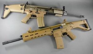 Bushmaster ACR or Magpul Masada